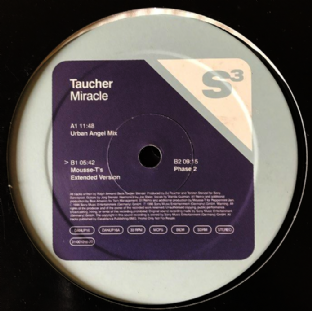 "Taucher - ‎Miracle (12"") (Promo) (VG-/G+)"